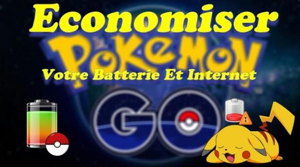 Economiser Votre Batterie Et Internet Sur Le Jeux POKEMON GO !!!