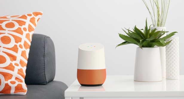 google-home-orange