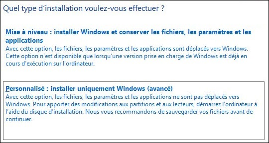install-w10-personnaliser